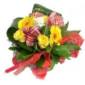 Bouquet ourson