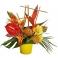 """Bouquet fleurs exotiques """"Thaïlande"""""""