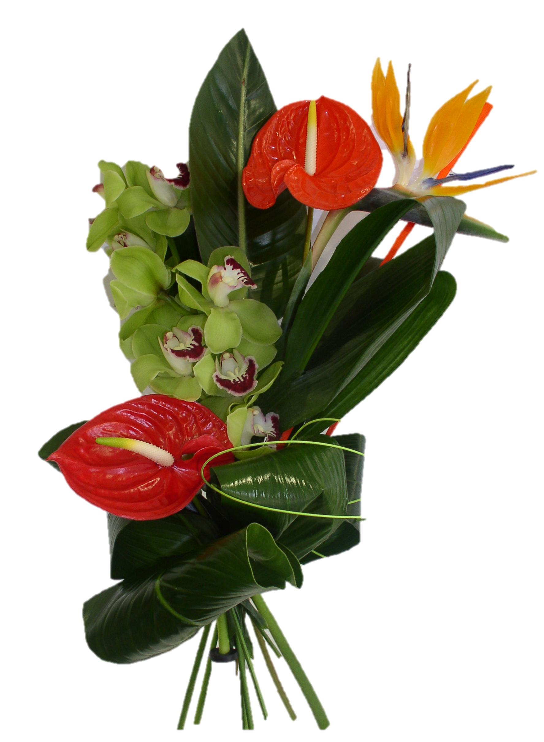 bouquet de fleurs des iles